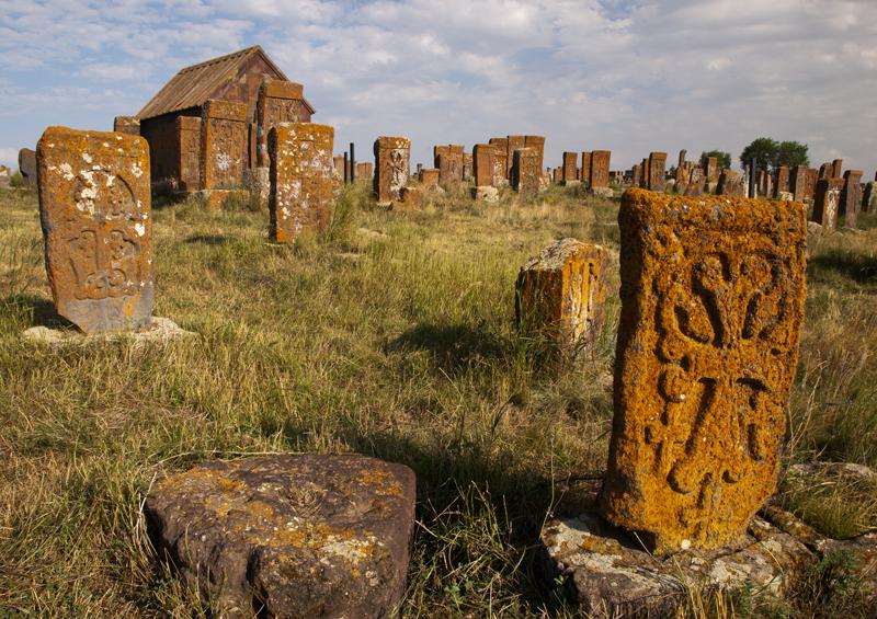 Khachkars, Armenia by Maros Markovic, Shutterstock