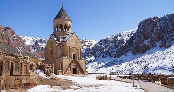 Noravank Monastery Armenia by Hovhannes Boranyan, Shutterstock