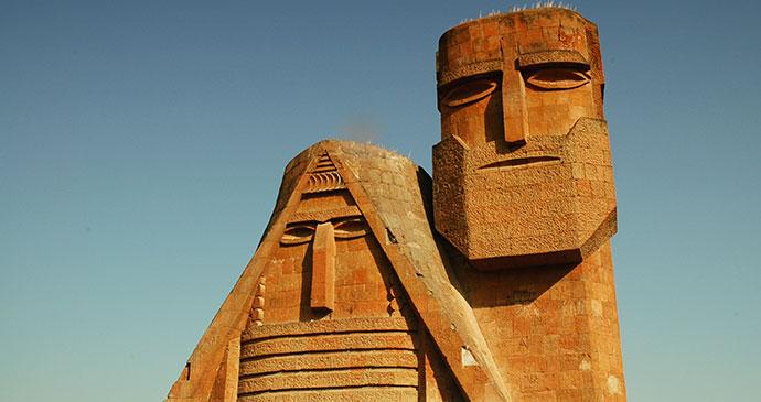 Tativ yev Papik Stepanakert Nagorno Karabagh Armenia by salajean, Shutterstock