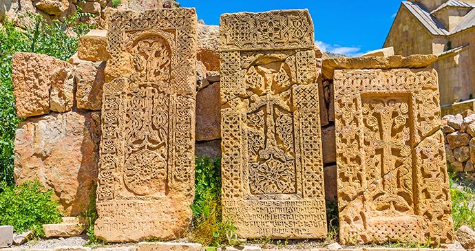 Khachkars Armenia by Efesenko Shutterstock