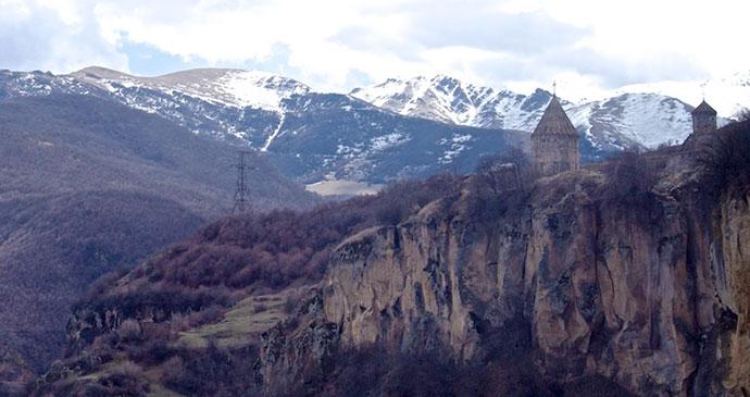 Tatev Monastery Armenia © Adrian Chan