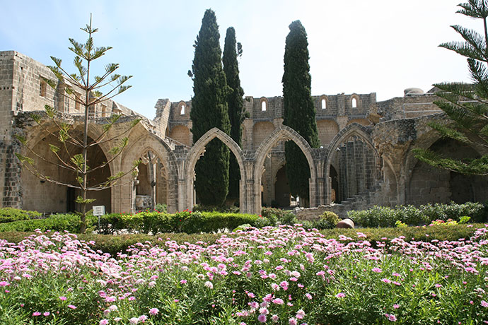 Bellapais Abbey Girne North Cyprus by North Cyprus Tourism Authority