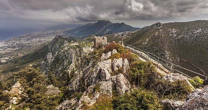 St Hilarion Castle Girne North Cyprus by Cortyn, Shutterstock