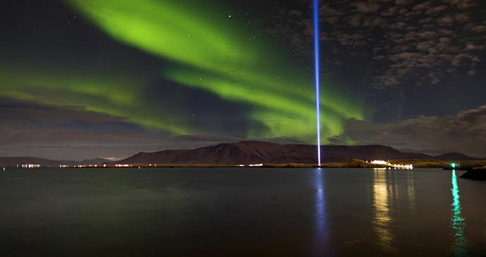 John Lennon Peace Tower, Iceland by  Ragnar Th. Sigurdsson, Visit Reykjavik day trip from Reykjavik