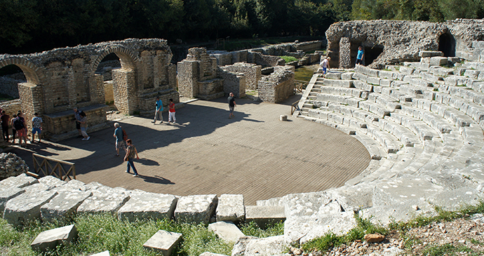 Butrint amphitheatre, Butrint, Albania by VVLasovs, Shutterstock