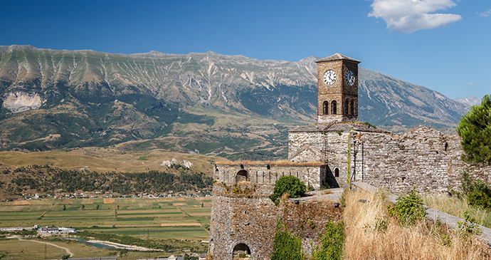 Medieval fortress, Gjirokastra, Albania by Lev Levin, Shutterstock
