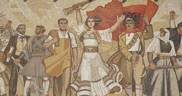 Mosaic at the National Historical Museum, Tirana, Albania by JM Travel Photography, Shutterstock