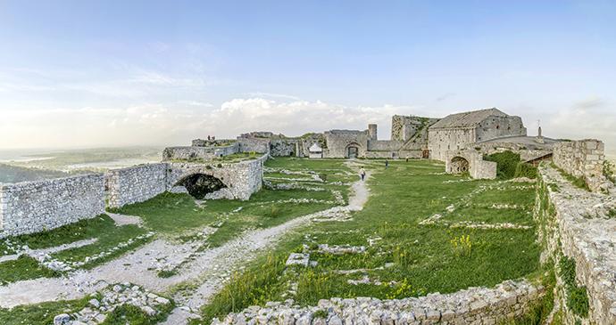 Rozafa Castle in Shkodra, Albania by Jove Pargovski, Shutterstock