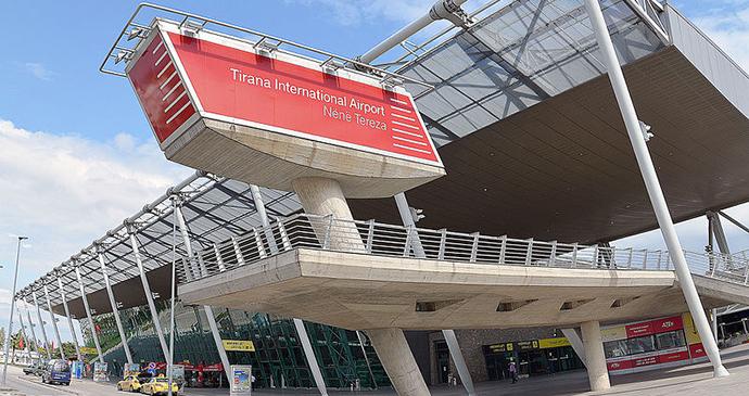 Tirana Airport, Tirana, Albania by Pasztilla, Wikimedia Commons