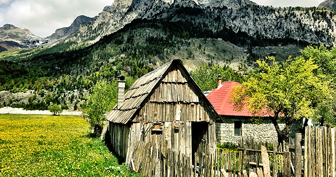 Valbona, Albania by David Arts, Shutterstock