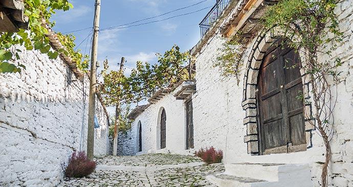 A cobbled street Berati, Albania by Bildagentur Zoonar GmbH, Shutterstock