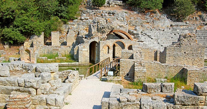 Butrint, Albania by Pecold Shutterstock