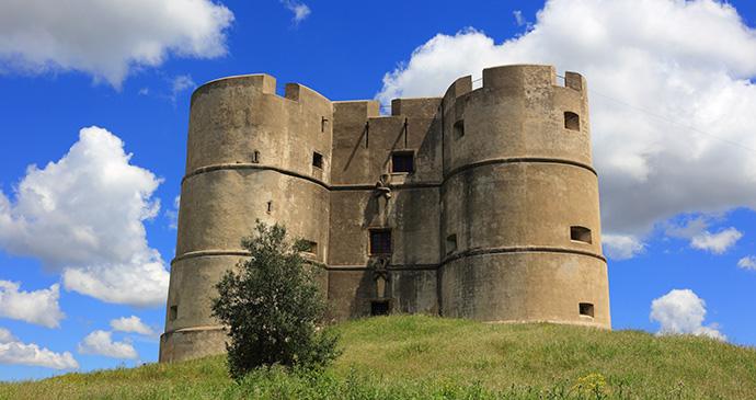 Castelo de Evoramonte Alentejo Portugal by John Copland Shutterstock