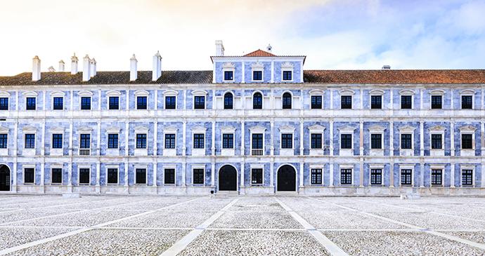 Braganza Ducal Palace Vila Vicosa Alentejo Portugal by Alex Robinson