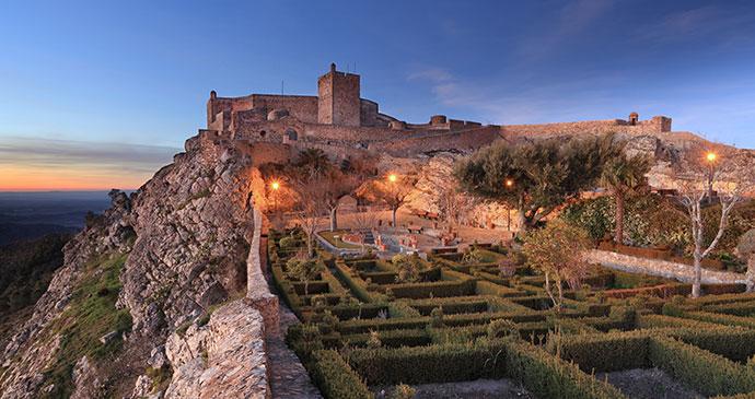 Castle Marvao Alentejo Portugal Europe by ARoxoPT, Shutterstock best historical sights alentejo