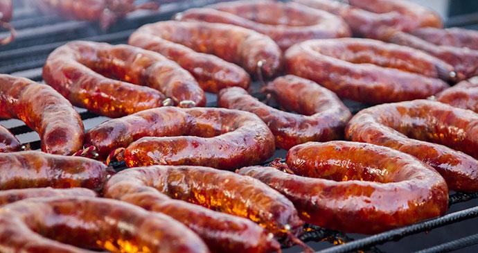 Chorizo Alentejo Portugal Europe by Mauro Rodrigues, Shutterstock