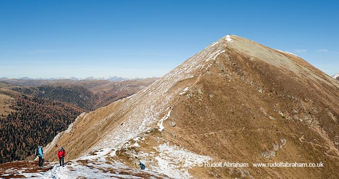 Nockberge Mountains Alpe Adria Trail by Rudolf Abraham