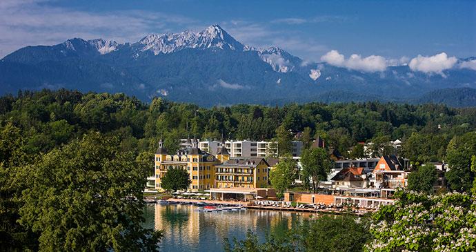 Schlosshotel Velden Slovenia Alpe Adria TRail by Wörthersee Tourismus