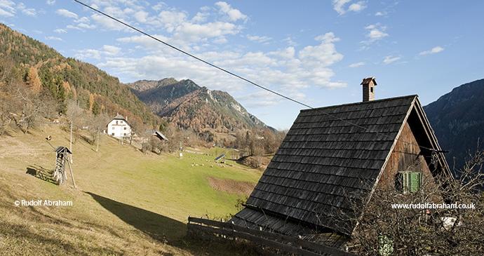 Karavanke Mountains Slovenia Alpe Adria Trail by Rudolf Abraham