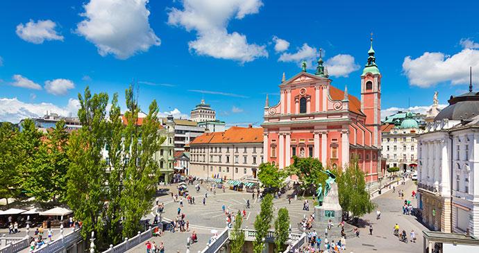 Ljubljana Slovenia by Kasto80 Dreamstime