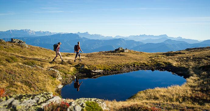 Millstätter Alpe Austria Alpe Adria Trail by