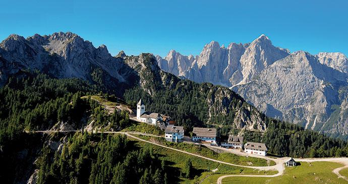 Monte Lussari Italy Alpe Adria Trail by PromoTurismoFVG