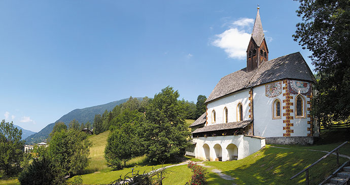 St Catherine's Church Alpe Adria Trail Slovenia by Bad Klirchenheim Tourism