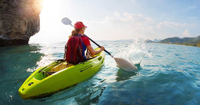 Kayaking, the Azores, Portugal by Sunvil