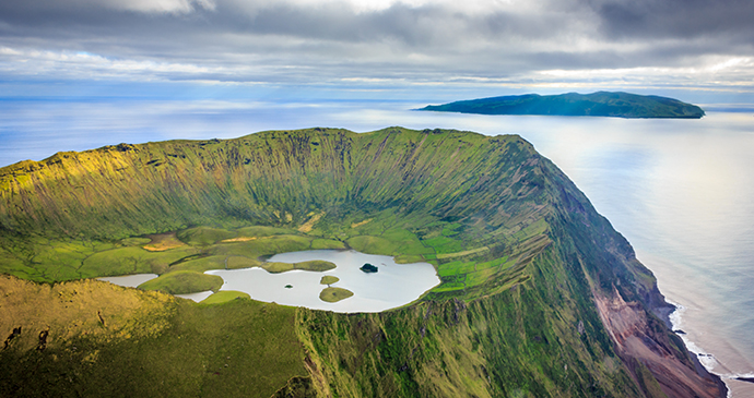 Corvo Island, Azores, Portugal, by Samuel Domingues, Shutterstock