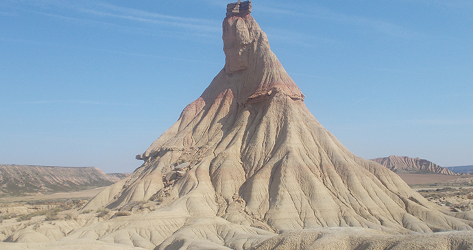 Bardenas Reales, Navarre, Basque Country, Spain by Murrary Stewart