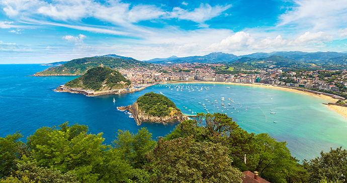 Beach San Sebastian Basque Country by S F Shutterstock