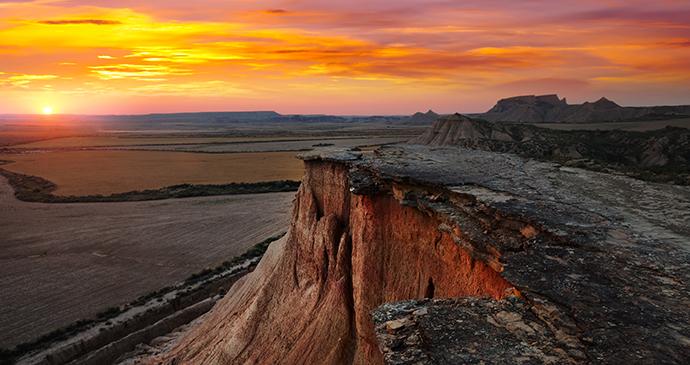 Bardenas Reales desert Basque Countr Navarre Spain by Iakov Filimonov, Shutterstock
