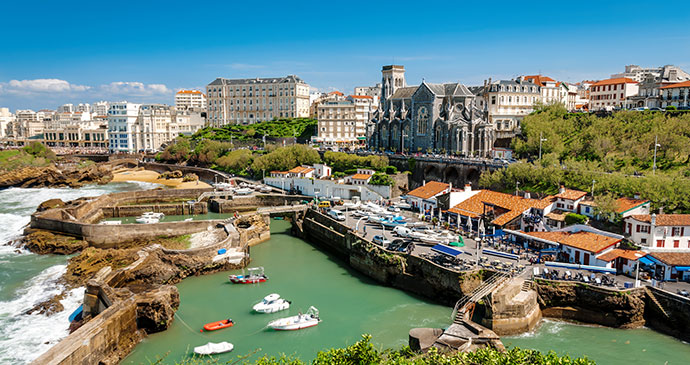 Biarritz France Basque Country by Gael_F Shutterstock