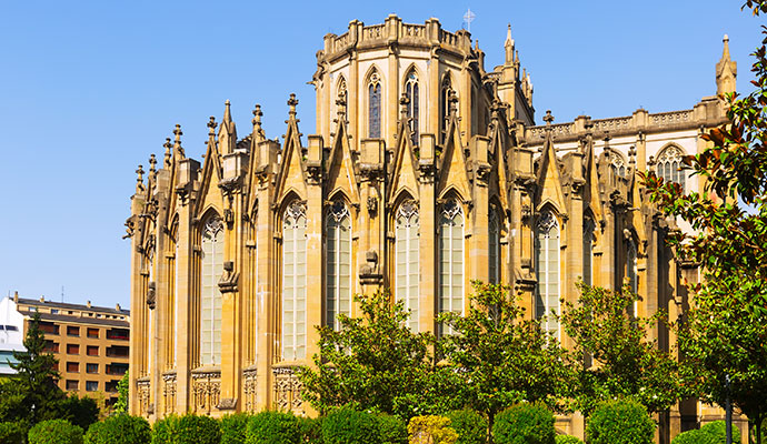 Catedral de Santa María, Vitoria-Gasteiz, Basque Country Spain Iakov Filimonov, Dreamstime