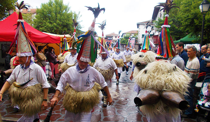Joaldunak festival Navarre Spain Basque Country Murray Stewart