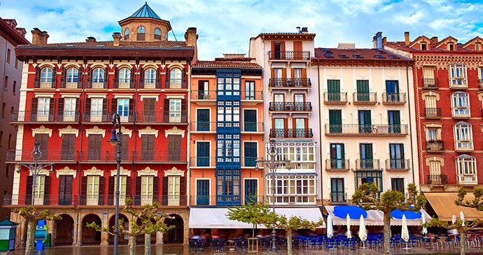 Pamplona Navarre Spain Basque Country by Tono Balageur, Shutterstock