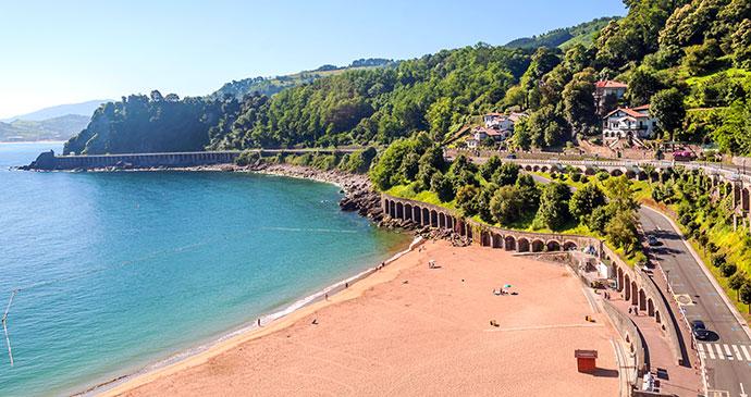 Beach San Sebastian Spain Basque Country by Grantotufo, Dreamstime