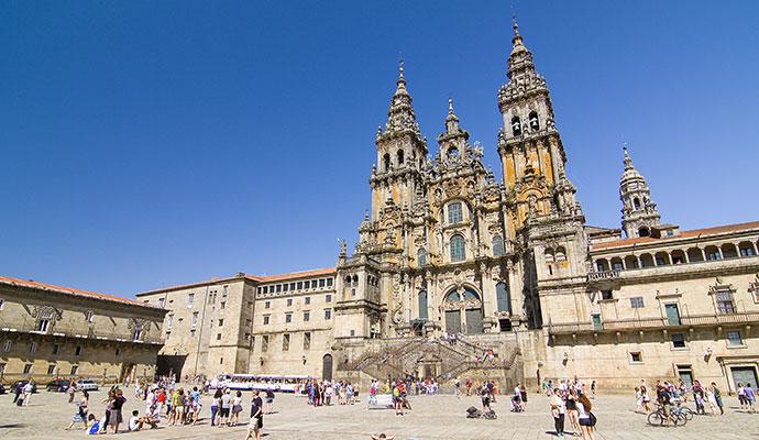 Santiago de Compostela Basque Country Spain by Natursports Dreamstime