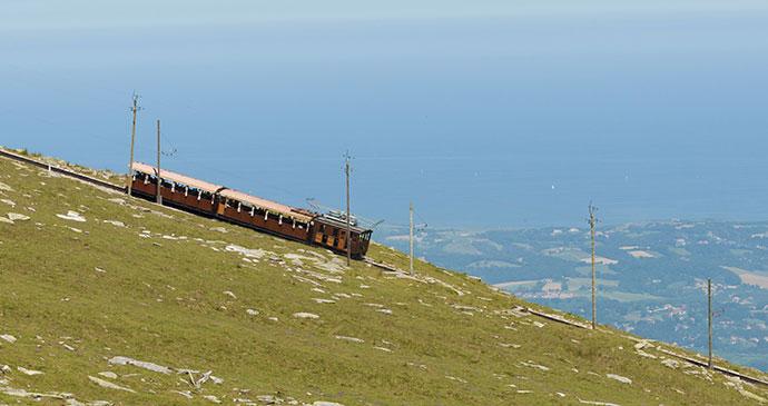 Train La Rhune Basque Country by Irantzu Arbaizagoitia Dreamstime