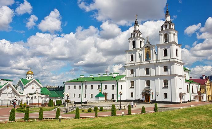 Holy Spirit Cathedral Minsk Belarus ESOlex, Shutterstock