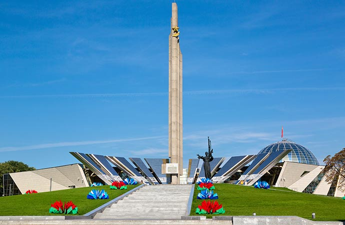 Belarusian State Museum of the Great Patriotic War Minsk Belarus Europe by Nickolay Vinokurov Shutterstock