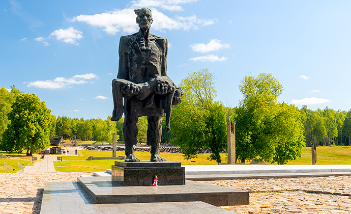 The Unconquered Man Khatyn Belarus by kosmos11, Shutterstock