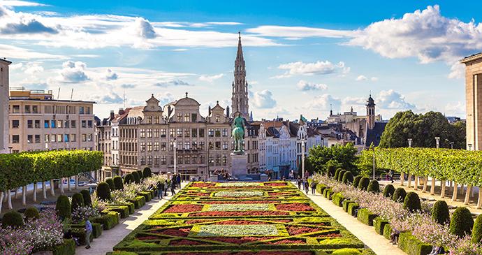 Cityscape Brussels Flanders Belgium by S-F, Shutterstock
