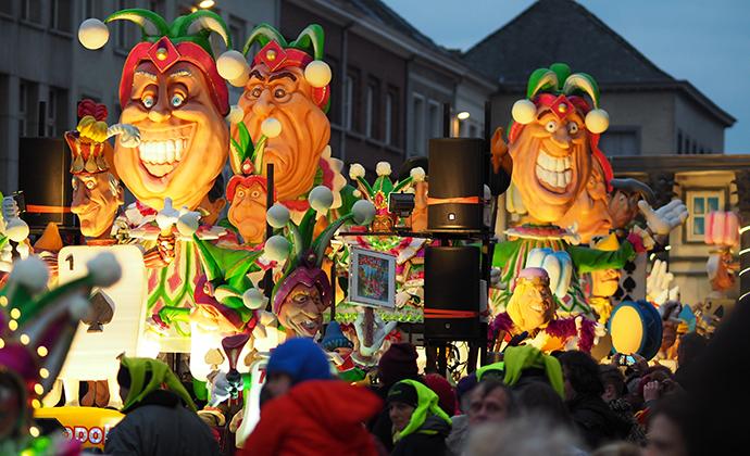 Aalst Carnival Flanders Belgium by alexandre tziripouloff, Shutterstock