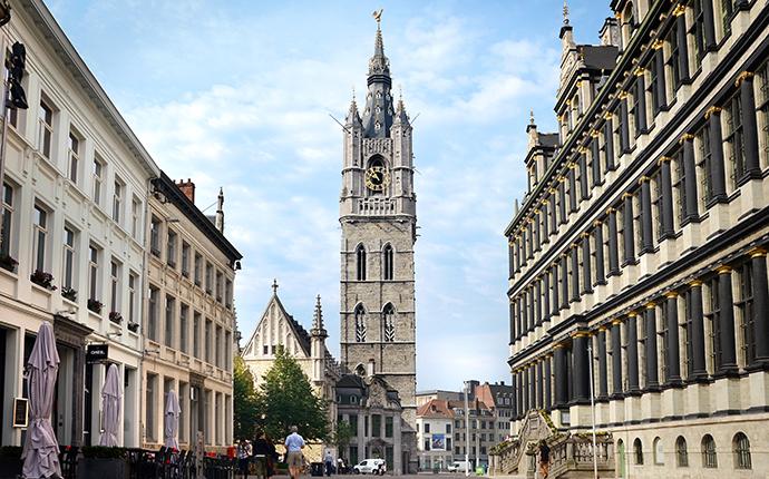 Belfry Ghent Flanders Belgium by Artoria, VisitFlanders  city break ghent
