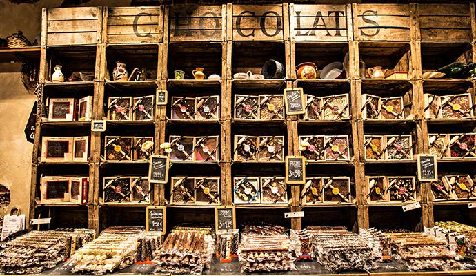 Chocolate shop Brussels Belgium © Sun_Shine, Shutterstock