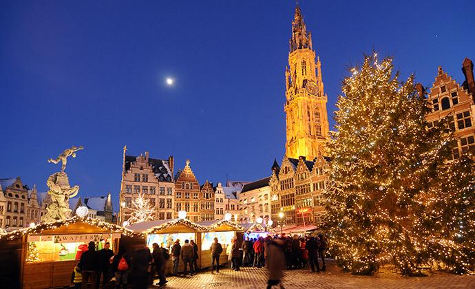 Christmas market Antwerp Belgium Flanders by Antwerpen Toerisme & Congres