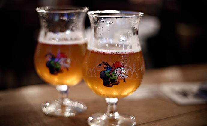 La Chouffe beer Flanders Belgium Alexandros Michailidis, Shutterstock