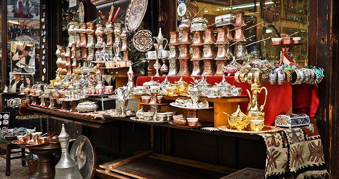 Crafts, Baščaršija, Sarajevo, Bosnia by Donatas Dabravolskas, Shutterstock