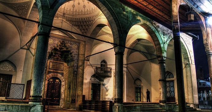 Gazi Husrev Begova Mosque, Sarajevo, Bosnia by Deni Drazic, Tourism Association of Canton Sarajevo